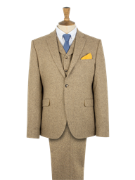 Gold Donegal Tweed Jacket