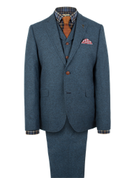 Gibson Blue Donegal Tweed Jacket
