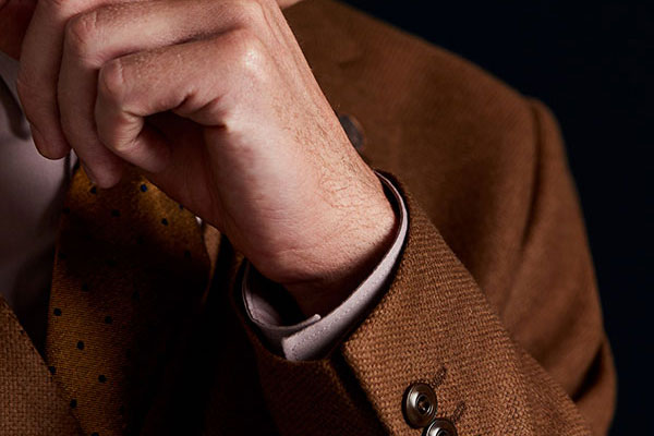 Camel Textured Jacket