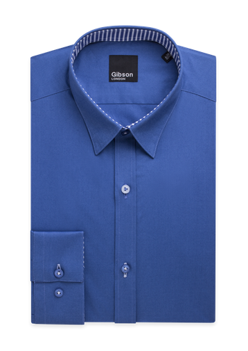 Gibson Aquamarine Plain Shirt