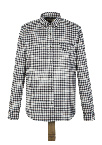 Gibson Charcoal Check Flannel Shirt