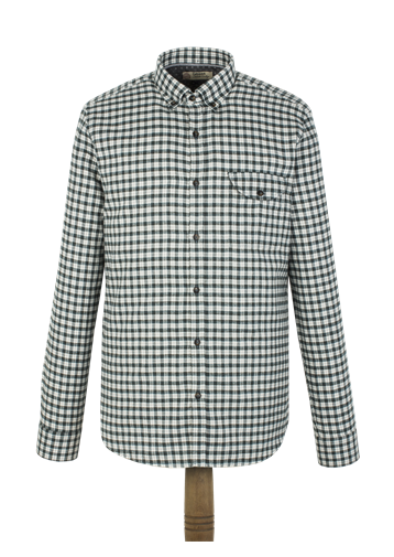Gibson Green Check Flannel Shirt
