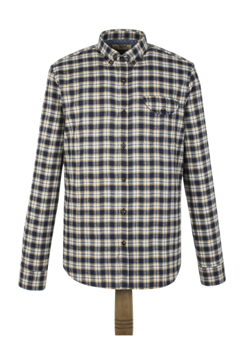 Gibson Tumeric Check Flannel