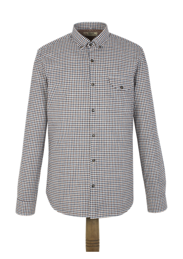 Gibson Brown Check Shirt
