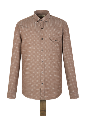 Gibson Brown Spot Shirt