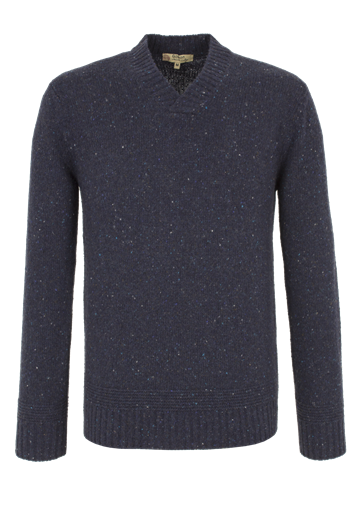 Gibson Chunky Y Neck Sweater