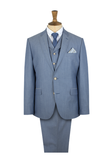 Gibson Light Blue Suit Jacket