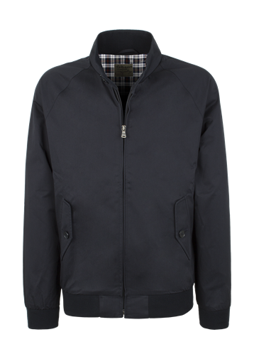 Gibson Navy Cotton Harrington Jacket