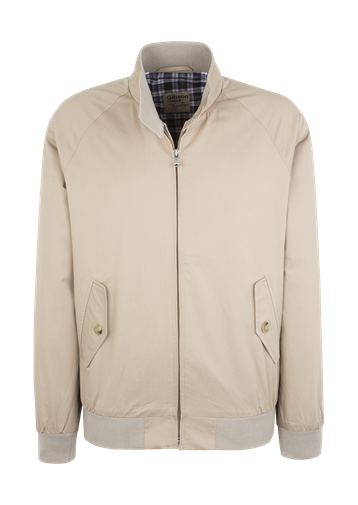 Gibson Stone Cotton Harrington Jacket