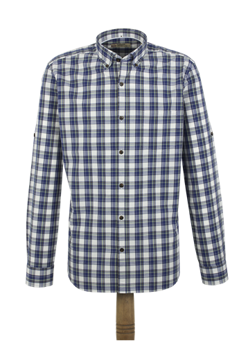Gibson Blue Check Shirt
