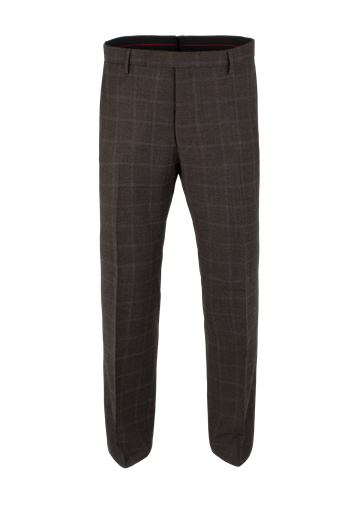 Gibson Brown Check Suit Trousers