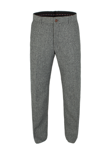 Gibson Silver Grey Donegal Trousers