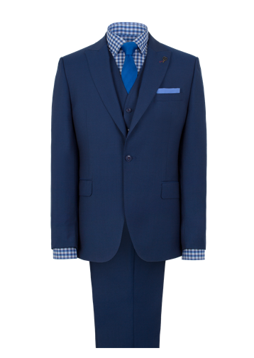 Gibson Cobalt Blue Single Breasted Suit