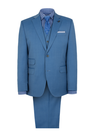 Gibson Pale Blue Single Breasted Suit
