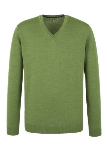 Gibson Merino V Neck Sweater