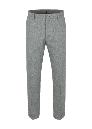 Gibson Grey Donegal Trousers