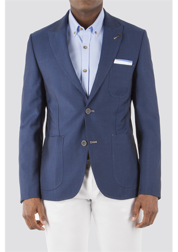 Gibson Navy Slim Fit Jacket