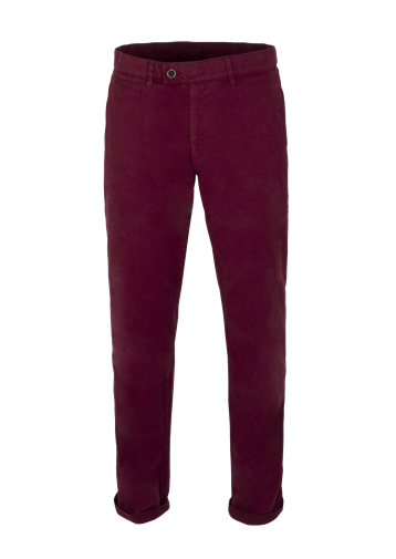 Gibson Burgundy Cotton Chinos