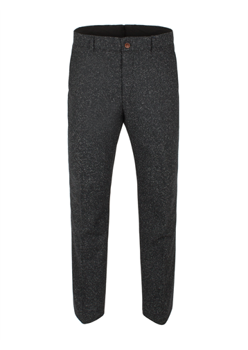 Gibson Charcoal Donegal Fleck Trouser