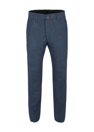 Gibson Blue Herringbone Trouser