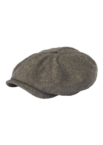 Gibson Green Herringbone Hat