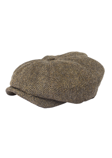 Gibson Dark Gold Contrast Tweed Hat