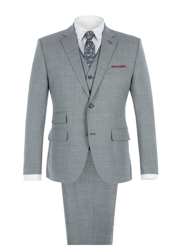 Gibson Grey Melange Two Piece Suit