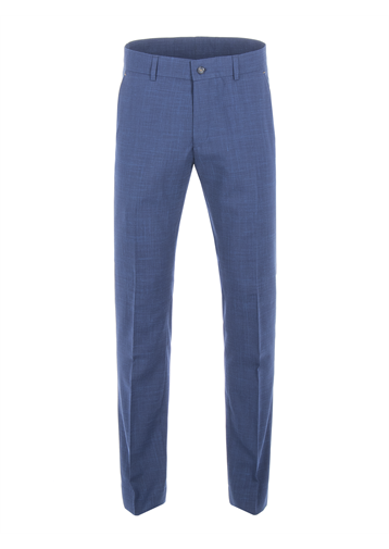 Gibson Cobalt Blue Wool Blend Trousers
