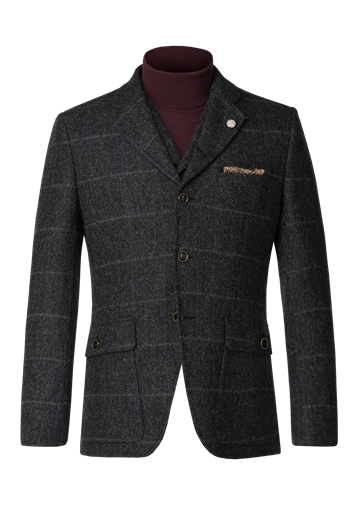 Gibson Charcoal tweed jacket
