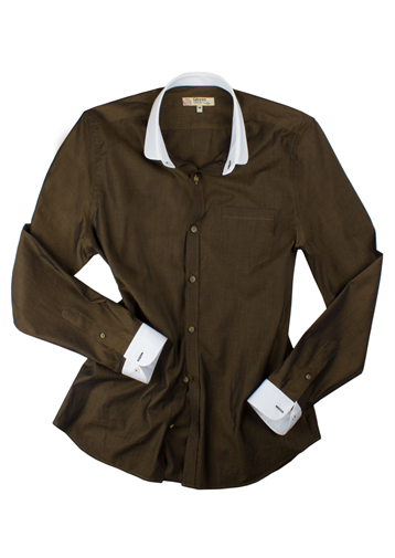 Gibson Olive Tonic Penny Round Shirt