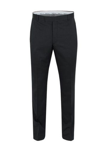Gibson Black Twill Slim Fit Trousers