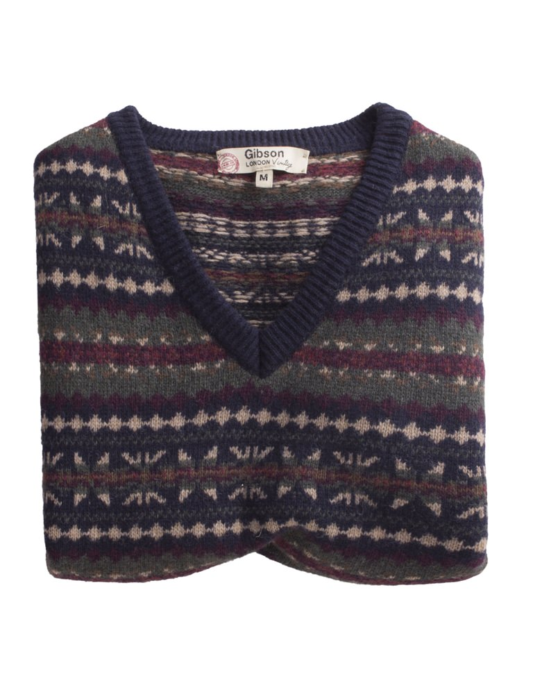 Gibson Fairisle Knitted Tank Top- currently unavailable