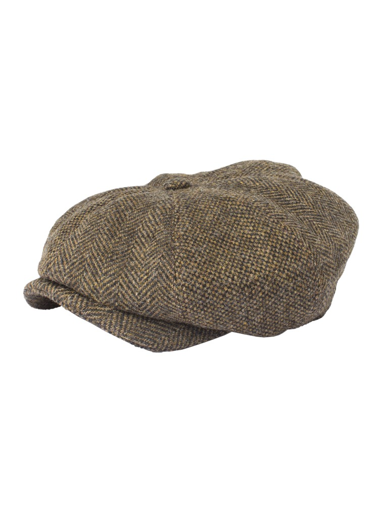 Gibson Dark Gold Contrast Tweed Hat- currently unavailable dece132e6a5