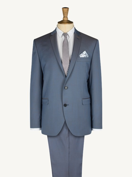 Blue Two Tone Two Piece Suit- currently unavailable