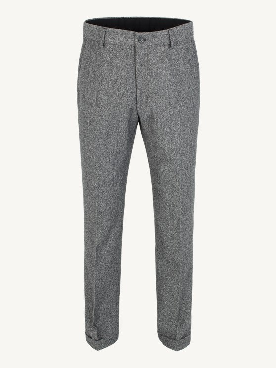Grey Donegal Plain Front Trouser- currently unavailable