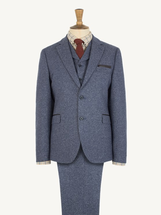 Pale Blue Donegal Jacket- currently unavailable