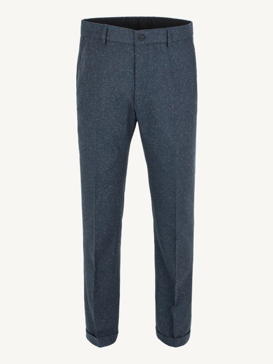 Teal Donegal Plain Front Trouser- currently unavailable