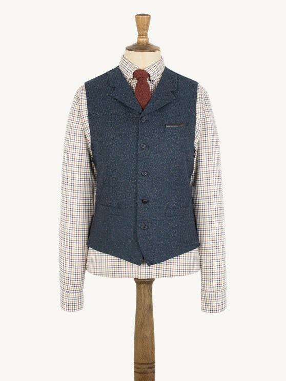 Teal Donegal Vest- currently unavailable