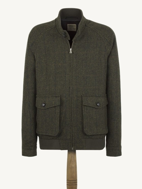 Green Check Harrington Jacket- currently unavailable