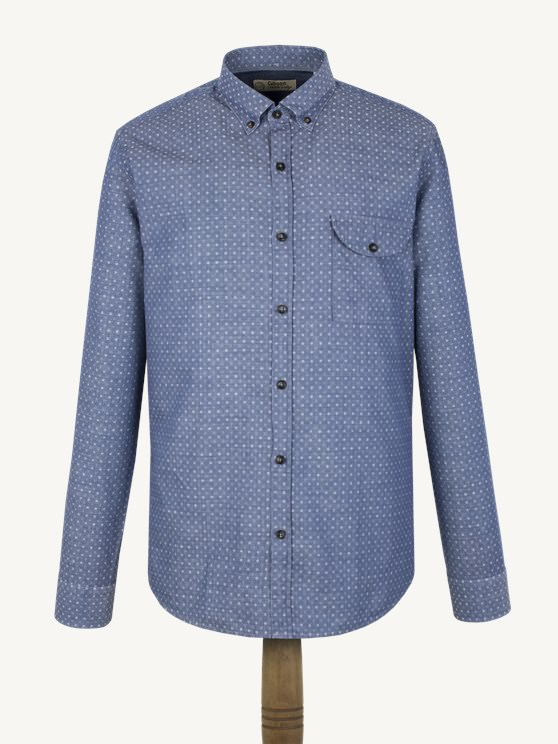 Blue Spot Shirt- currently unavailable