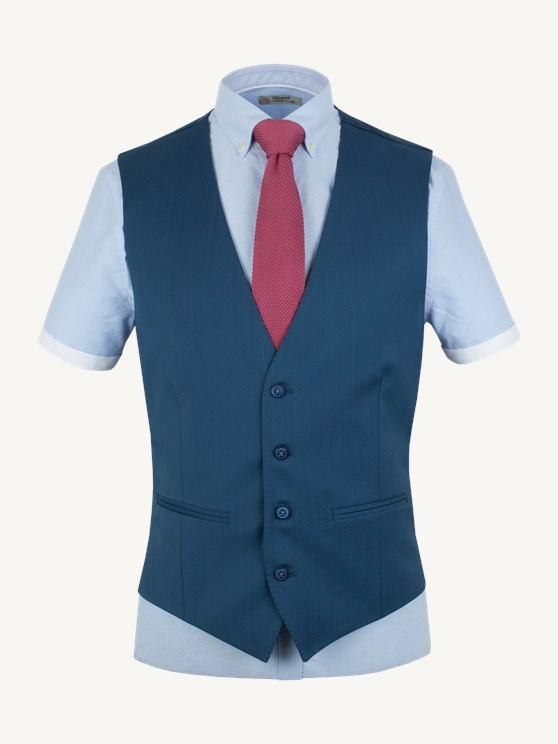 Cornflower Blue Waistcoat- currently unavailable
