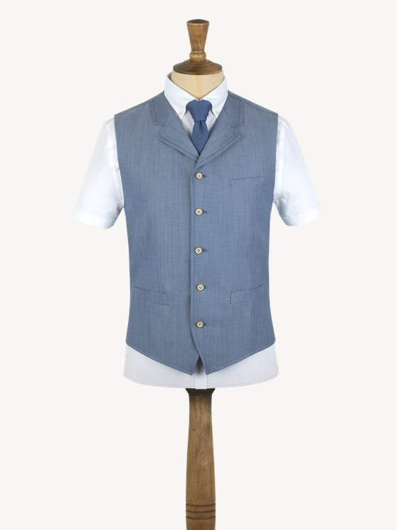Light Blue Waistcoat- currently unavailable