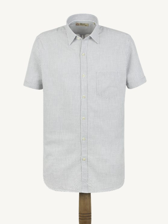 White Navy Cross Shirt- currently unavailable