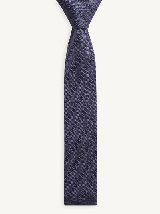 Diagonal Textured Tie- currently unavailable