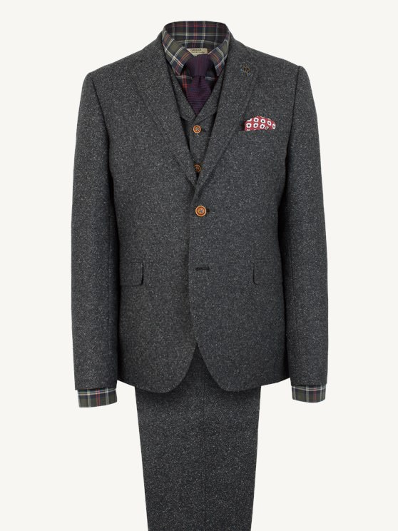 Charcoal Donegal Jacket- currently unavailable