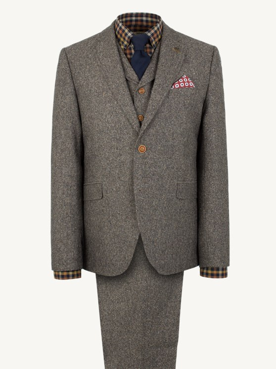 Taupe Donegal Jacket- currently unavailable