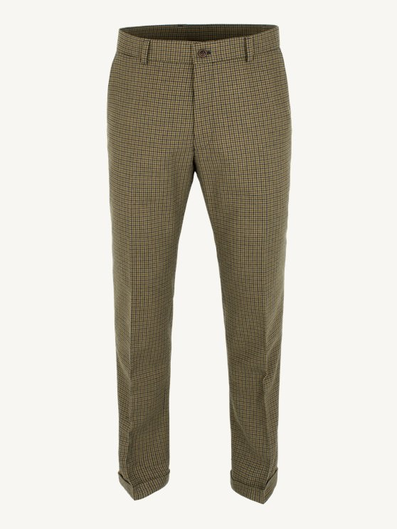 Sage Dogtooth Check Trouser- currently unavailable