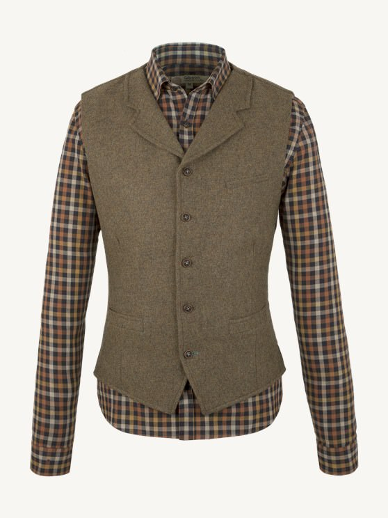 Sage Waistcoat- currently unavailable
