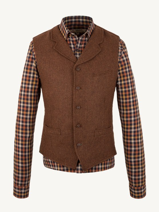 Rust Waistcoat- currently unavailable