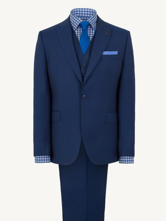 Cobalt Blue Single Breasted Suit